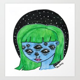 Eye Got You In My Sights Art Print