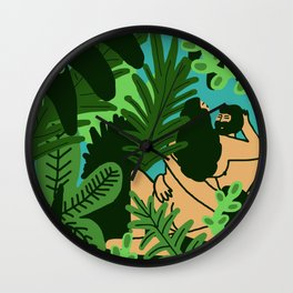 Mamacitas Club 4 Wall Clock