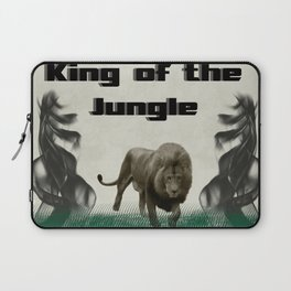 The King of The Jungle Laptop Sleeve