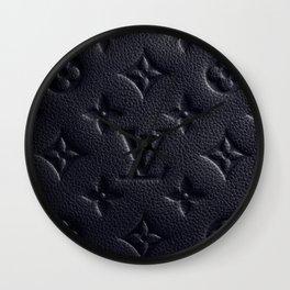 Black LV Wall Clock