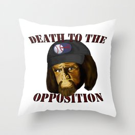 Death to the opposition Throw Pillow