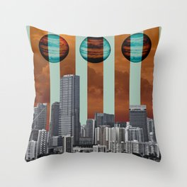 Descension Throw Pillow