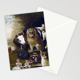 Edward Hicks The Peaceable Kingdom Stationery Cards