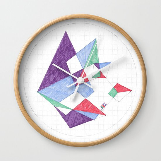 Kite-netic #1 Wall Clock