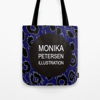 logo Tote Bags featuring logo by monika petersen