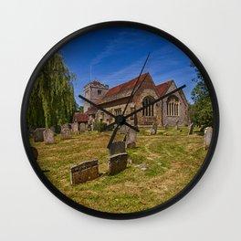 St Mary The Virgin Ringmer Wall Clock