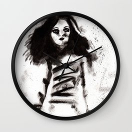 Soldados muertos (sketch version) Wall Clock