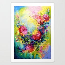 Love energy Art Print