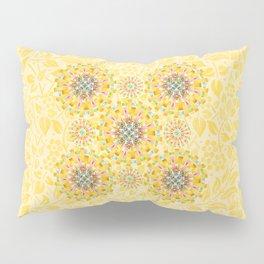 Sunshine Mandala Pillow Sham