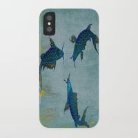 koi iPhone & iPod Cases featuring Koi  by Saundra Myles