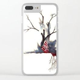 Recuerdos Oxidados Clear iPhone Case