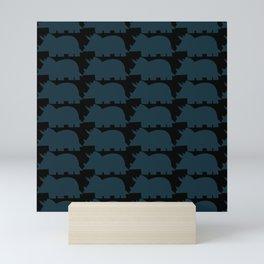 Stegosaurus Pattern Mini Art Print