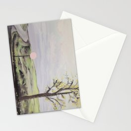 where the dark doors of our dreams are always wide open Stationery Cards