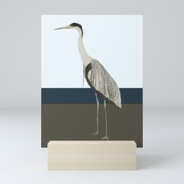 Heron Mini Art Print