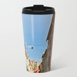 Colors of the old city Travel Mug