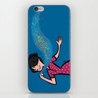 perfume iPhone & iPod Skins featuring Perfume by Bea Blanco