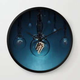 Ripe for the Harvest / Sci-fi human clones Wall Clock