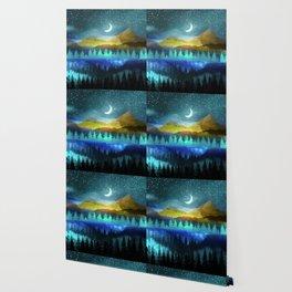 Silent Forest Night Wallpaper