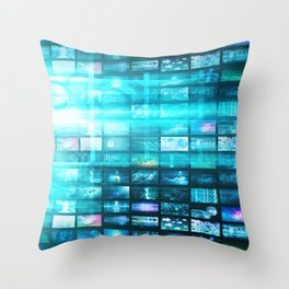 Disruptive Technologies and Technology Disruption as a Tech Concept Throw Pillow
