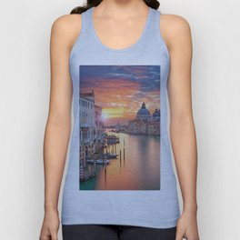 Sunset in Venice Unisex Tank Top