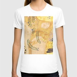 Water Serpents - Gustav Klimt T-shirt