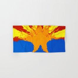 Arizona Flag (Poured Acrylic Style) Hand & Bath Towel