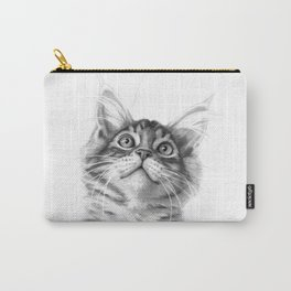 Kitten looking up G115 Carry-All Pouch