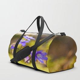 Wildflowers Spring Forest #decor #society6 #buyart Duffle Bag