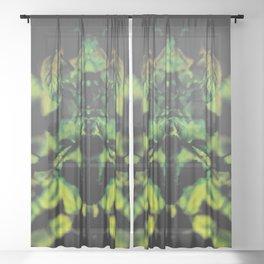 spirits of nature - shine Sheer Curtain