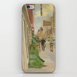 102nd broadway iPhone Skin