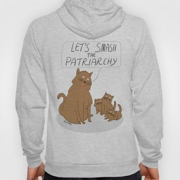 Let's Smash The Patriarchy Kittens Hoody