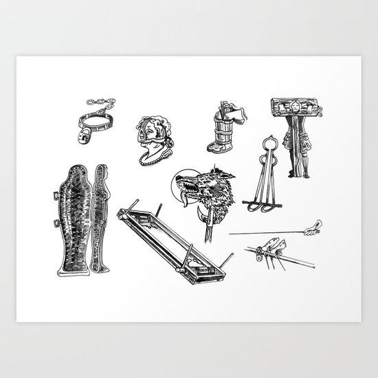 We Do Torture Right  Art Print
