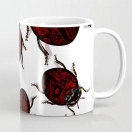 Dark Luck Lady Bugs Coffee Mug
