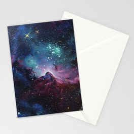 The Birth of Our Stars Stationery Cards