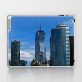 Manhattan View From Hudson River Laptop & iPad Skin