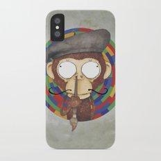 Monkey Artist iPhone X Slim Case