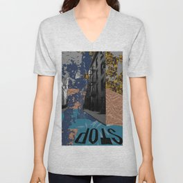 Trees, Water, & Cement Unisex V-Neck