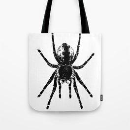 Scary Tarantula Spider Halloween Black Arachnid Tote Bag