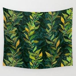 Pond Seaweed Pattern by Robert Phelps Wall Tapestry
