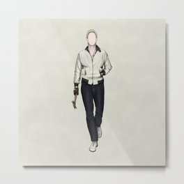 Driver without a face (Drive) Metal Print