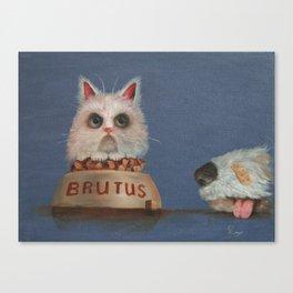 Brutus Canvas Print