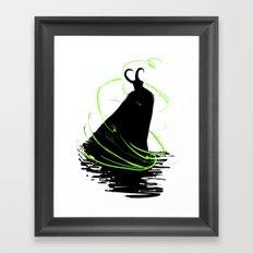 God of Mischief Framed Art Print