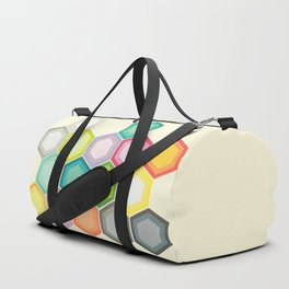 Honeycomb Layers Duffle Bag