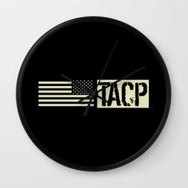 TACP (Black Flag) Wall Clock