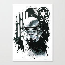 Stormtrooper Print Canvas Print
