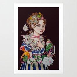 The Ardent Protagonist Art Print