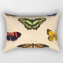 Butterfly Collection Rectangular Pillow