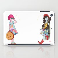 marceline iPad Cases featuring Bubblegum and Marceline by Judith Chamizo