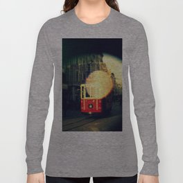 colorful tram in Istanbul Long Sleeve T-shirt