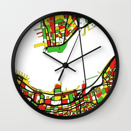Streets of Hong Kong - Port Victoria Wall Clock